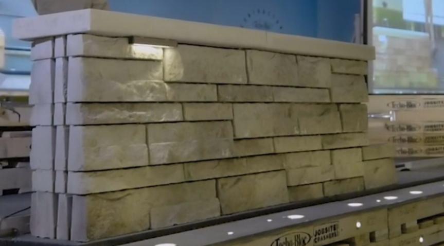 wall showcase